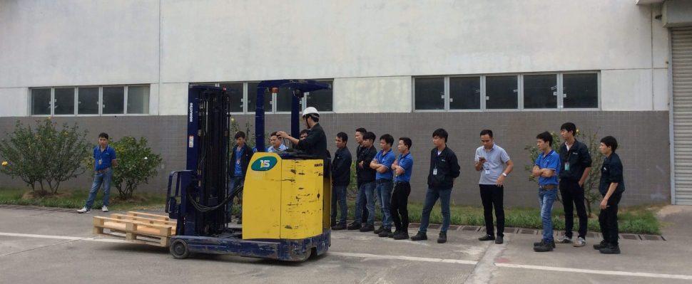 Đào tạo các lớp sơ cấp nghề VH xe nâng
