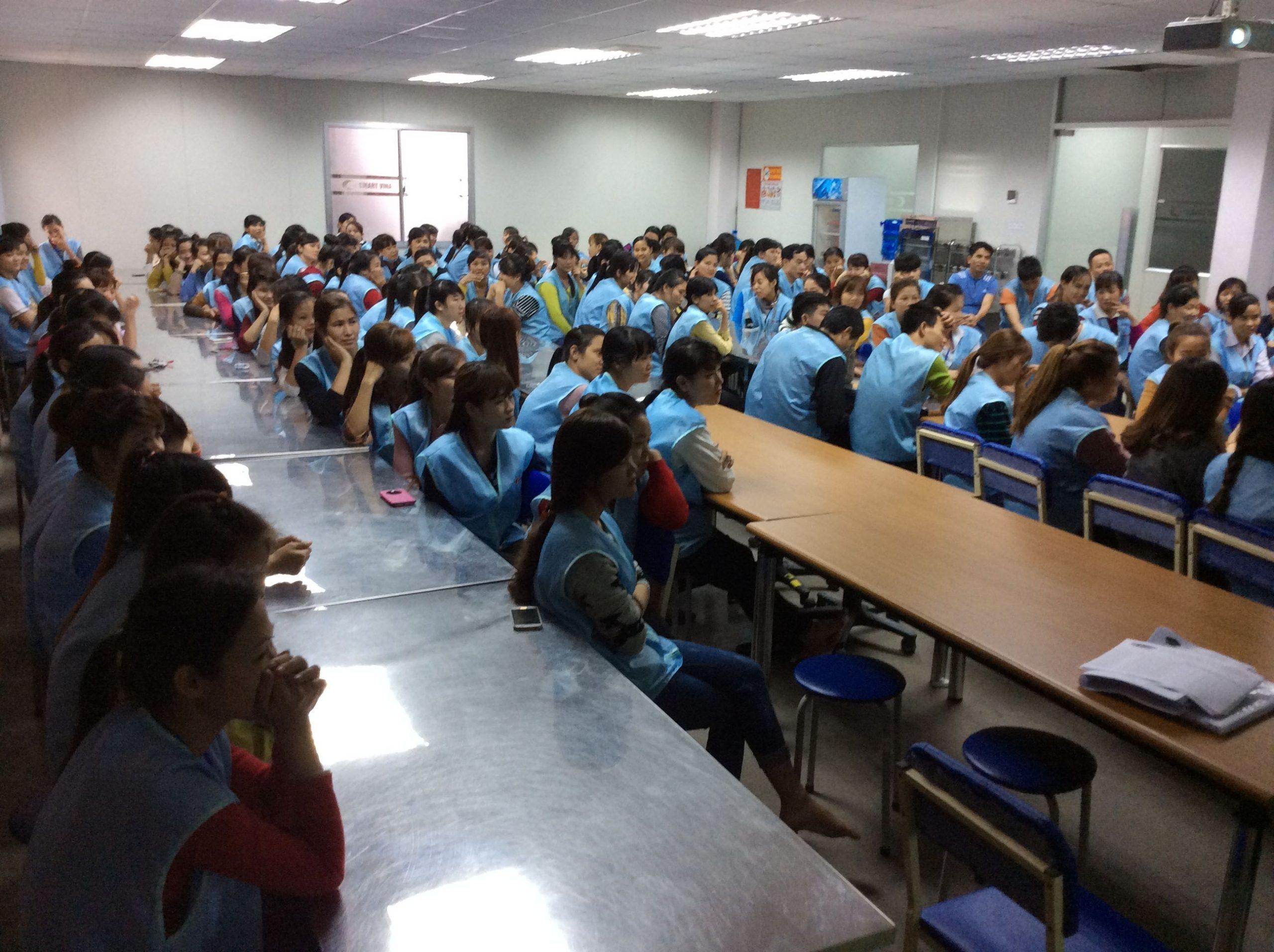 Huấn luyện an toàn lao động – vệ sinh lao động