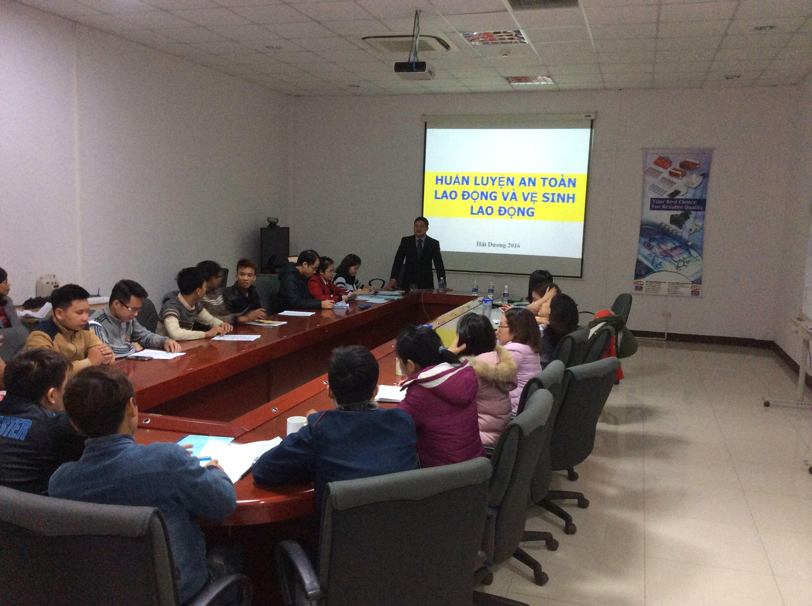 Huấn luyện an toàn lao động tại Hải Dương | An toàn lao động 2018