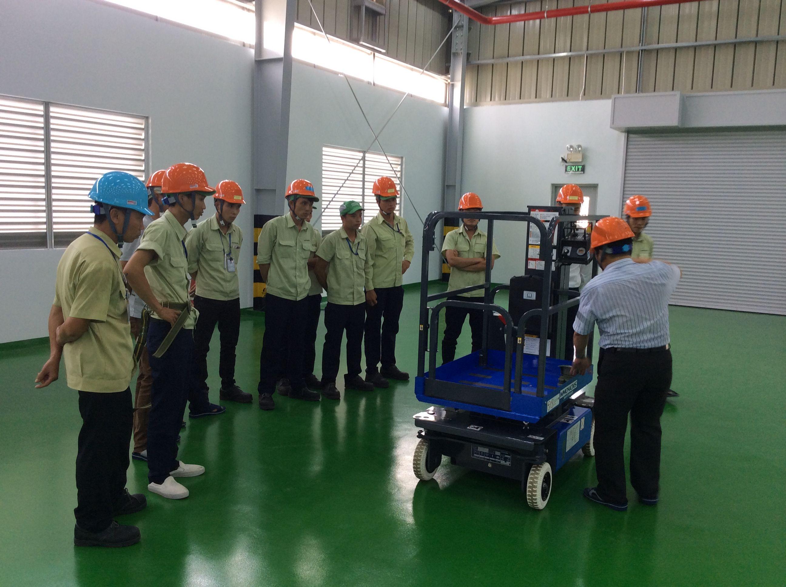 Huấn luyện an toàn lao động cho đối tượng nhóm 3   NĐ 44/2016NĐ-CP