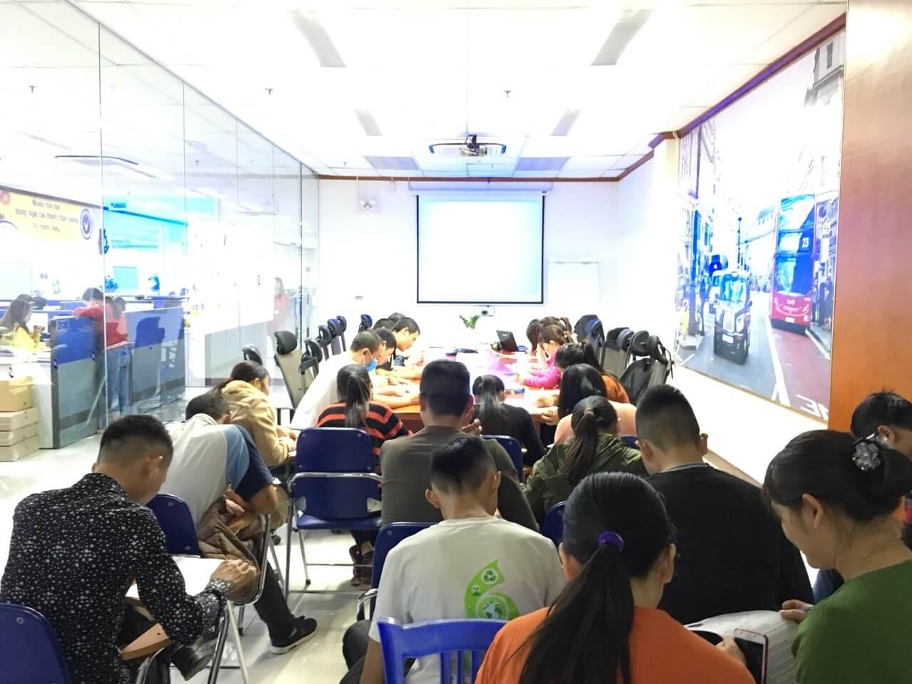 Huấn luyện an toàn lao động, vệ sinh lao động tại công ty TNHH TAV
