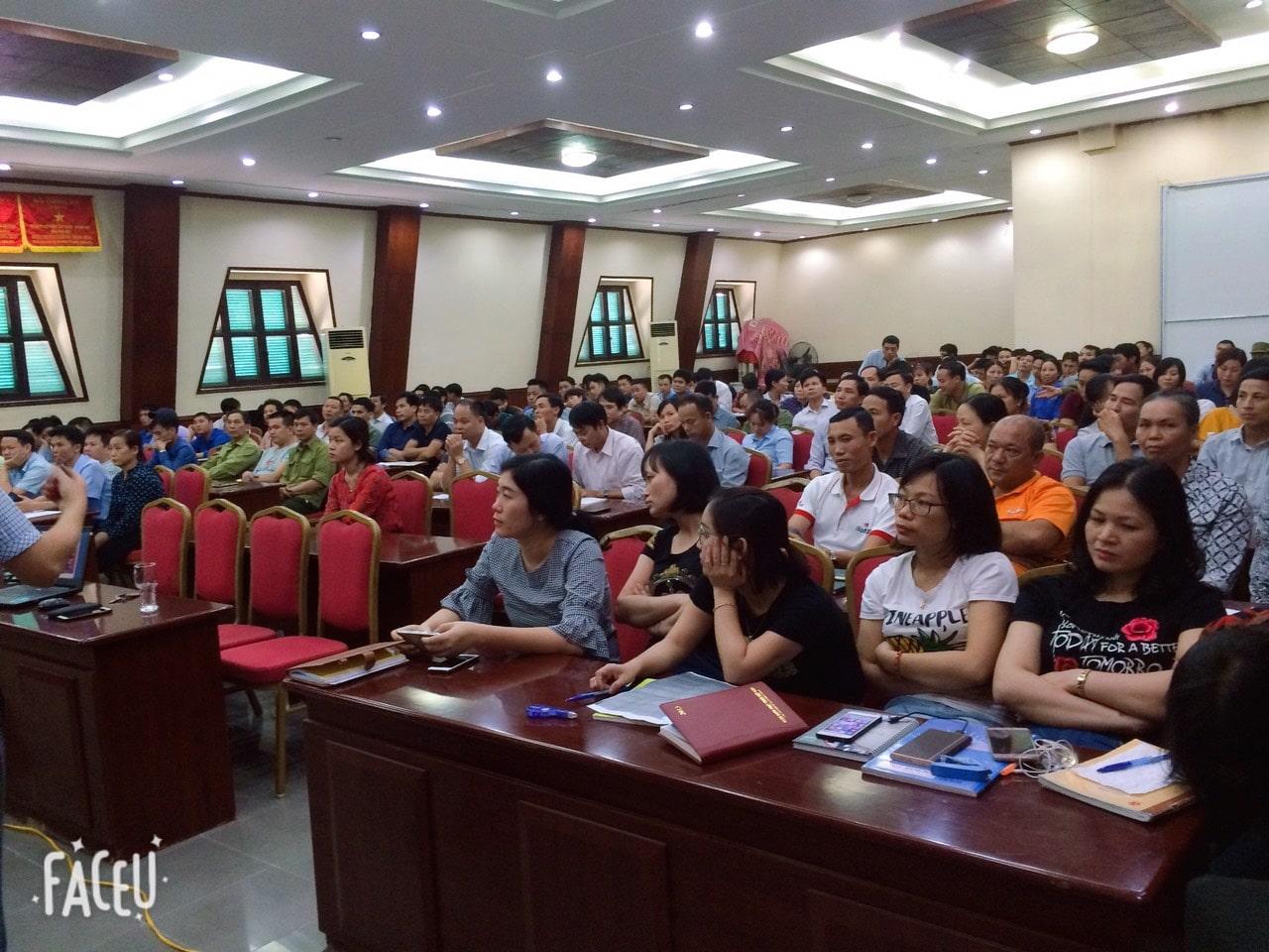 Huấn luyện An toàn, vệ sinh lao động tại Công ty cổ phần tập đoàn Hương Sen