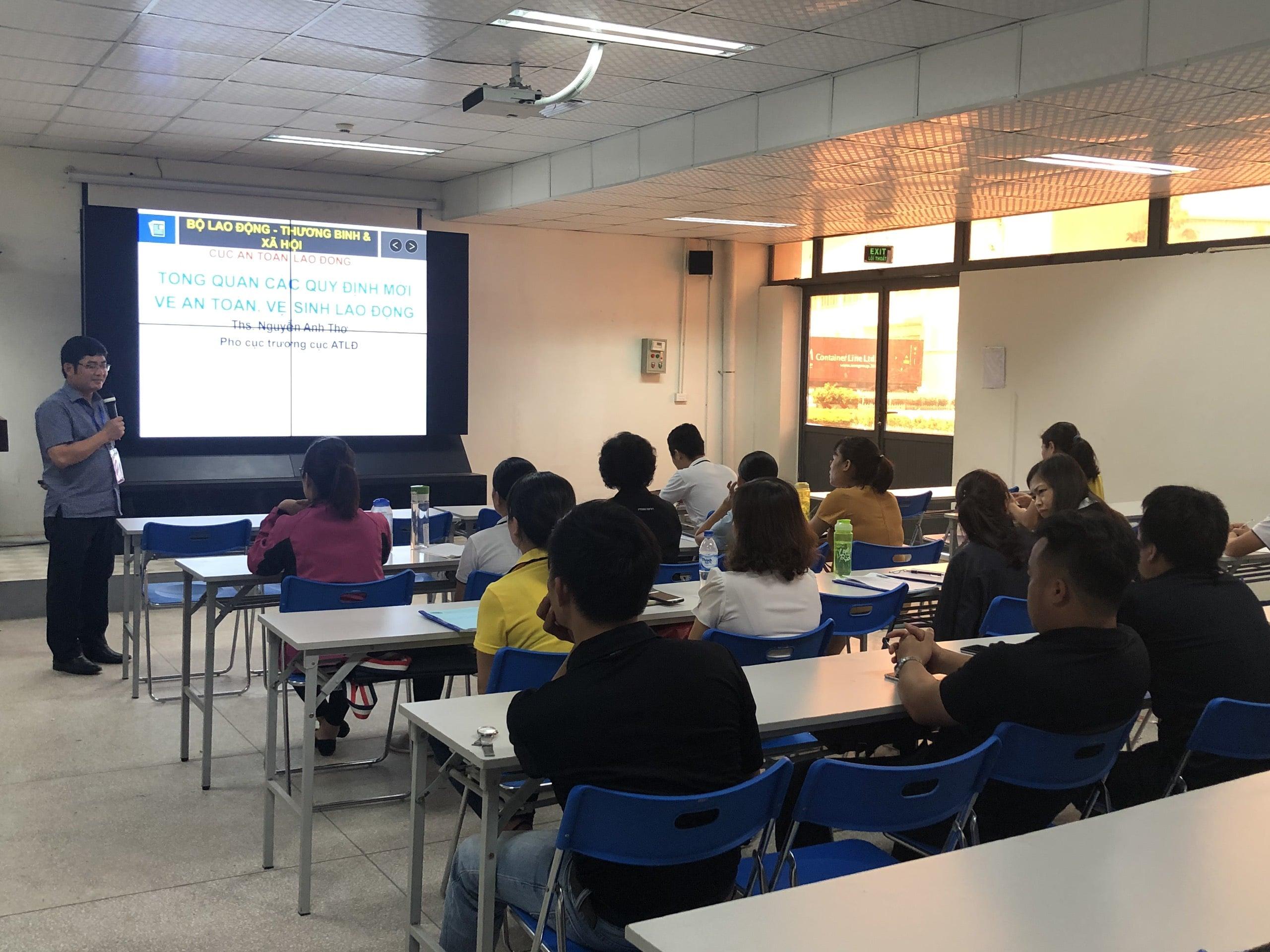 Thông báo mở lớp huấn luyện an toàn, vệ sinh lao động cho giảng viên