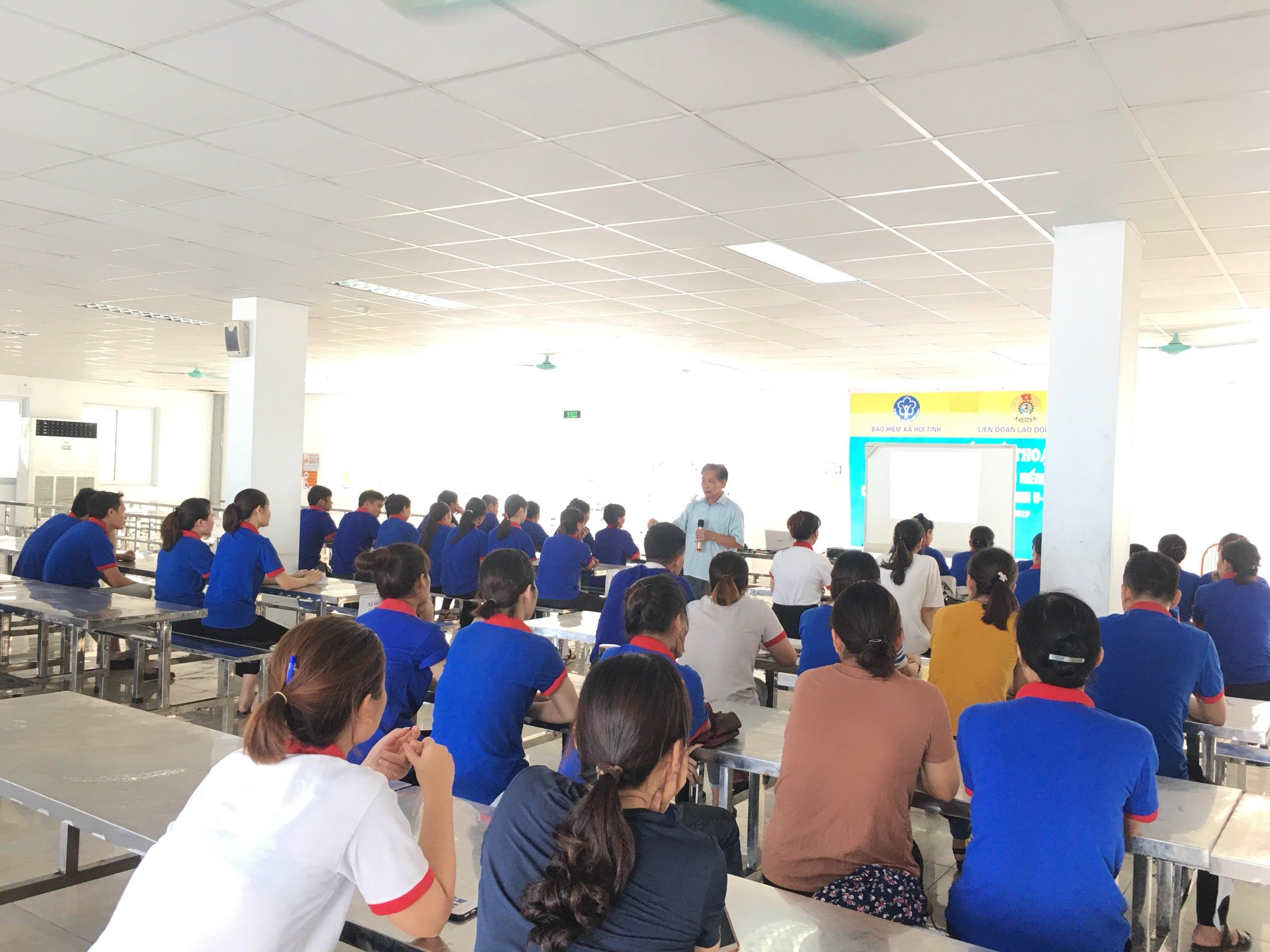 Huấn luyện an toàn, vệ sinh lao động tại Công ty TNHH ULi VN