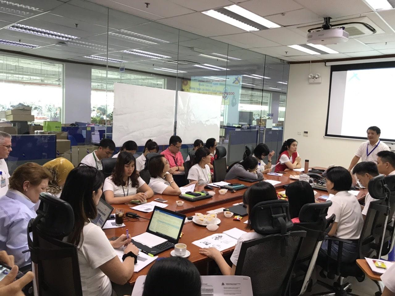 Huấn luyện an toàn, vệ sinh lao động cho đối tượng nhóm 1 Công ty TNHH TAV năm 2019