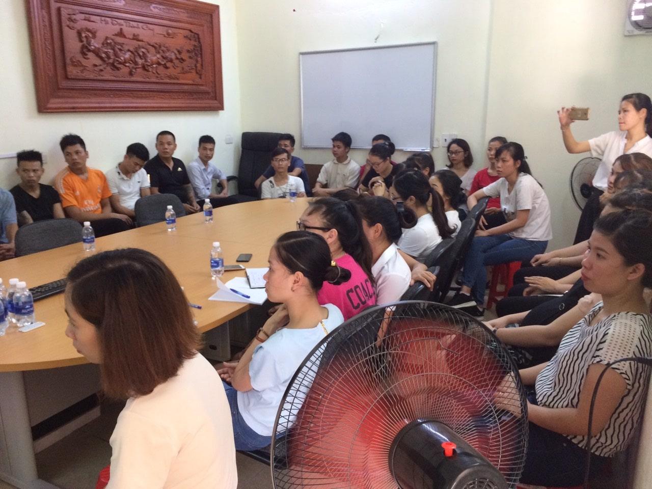 Huấn luyện an toàn, vệ sinh lao động tại Công ty TNHH bao bì YFY Thái Bình năm 2019