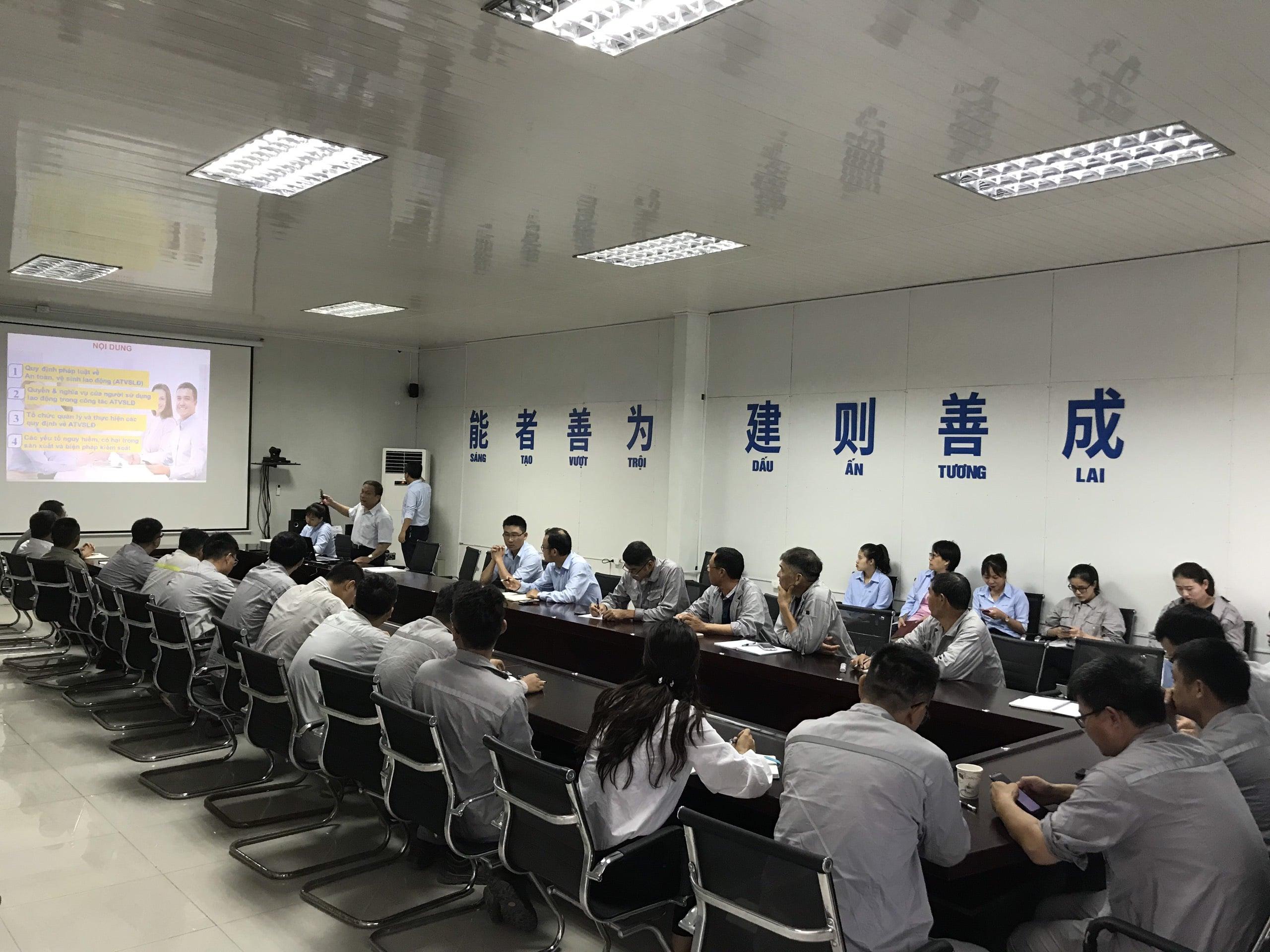 Huấn luyện an toàn, vệ sinh lao động tại Nhà máy Nhiệt điện Hải Dương năm 2019