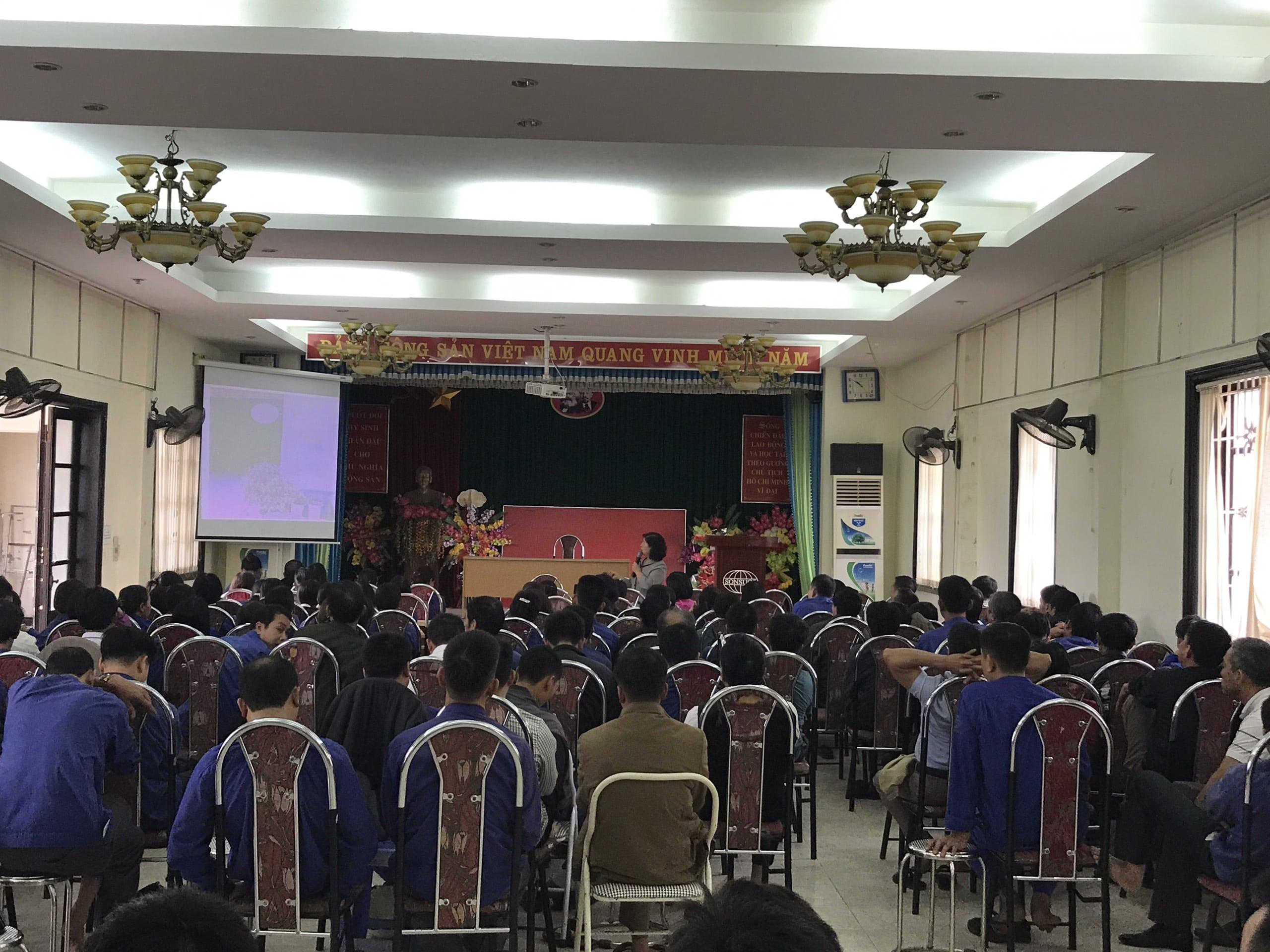 Huấn luyện an toàn, vệ sinh lao động tại Công ty cổ phần mía đường Sơn Dương Năm 2019
